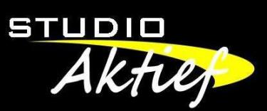 Logo Fitnesscentrum Studio Aktief